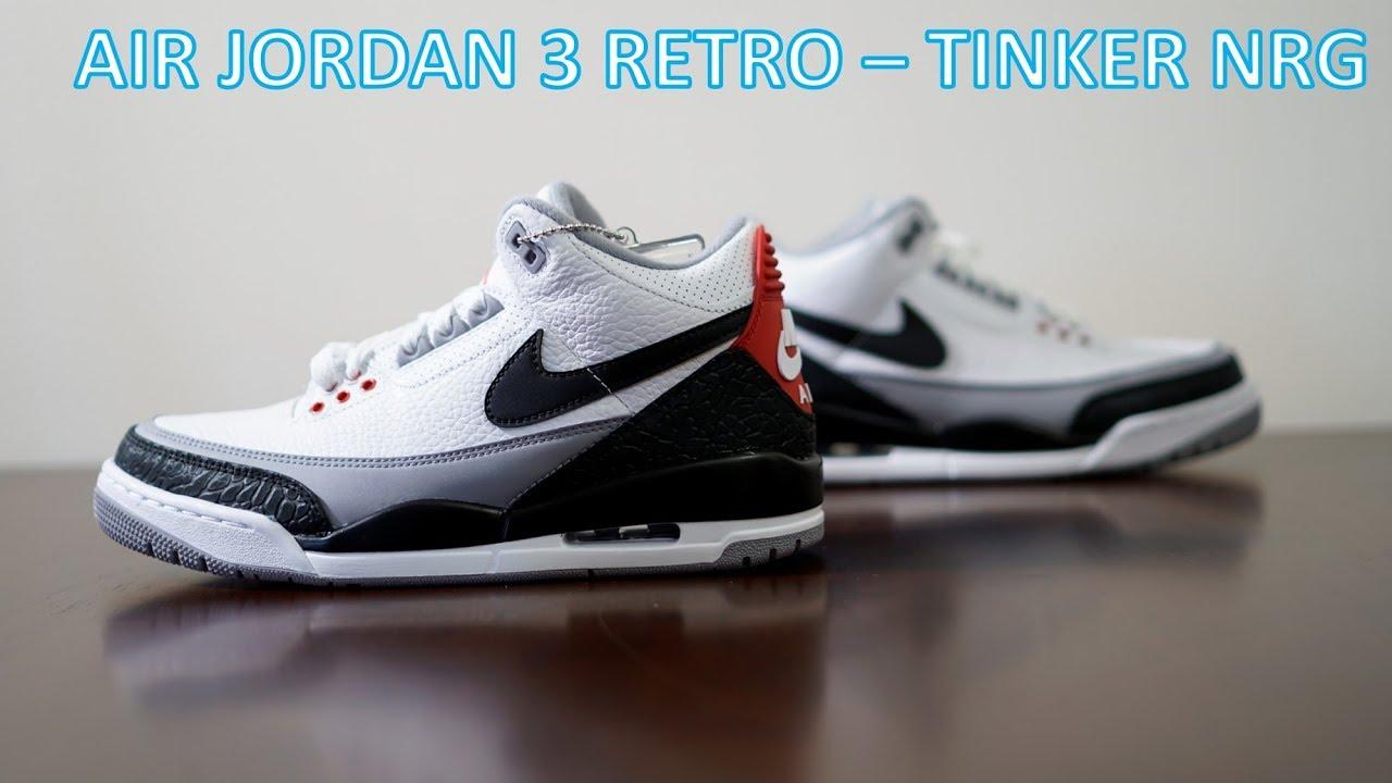 new style 6aec1 2bc93 REVIEW   ON-FEET - Air Jordan 3 Retro Tinker NRG