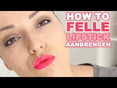 how-to-❤-felle-lipstick-aanbrengen-|-beautygloss