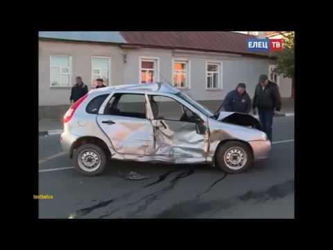 4 случая Елец аварии в Ельце  ДТП Елецкие происшествия