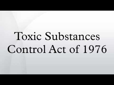 Toxic Substances Control Act of 1976