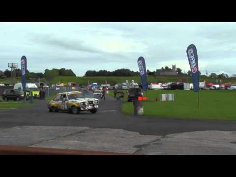 Vencedores do Ulster Rally Histórico - Ryan Barrett / Barry Ferris