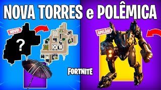 FORTNITE-NEW TOWERS PIES, FREE GLIDER and ROBOT APPEAL?
