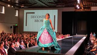 Haute Couture Fashion Show - Decontie & Brown - 98th Santa Fe Indian Market 2019