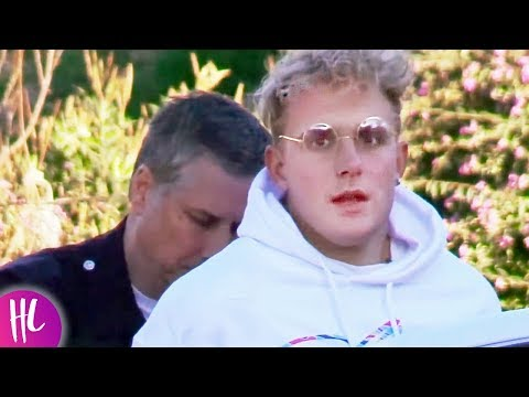 Jake Paul Under Arrest After Annoying Police Officers | Hollywoodlife