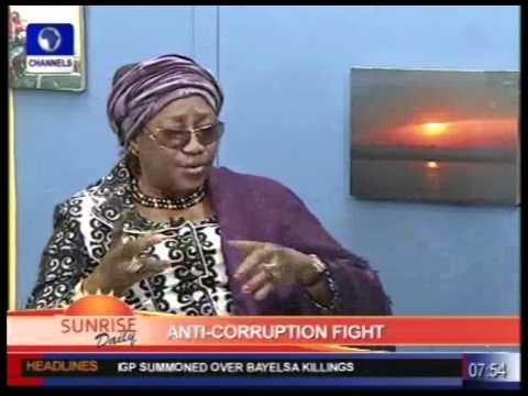EFCC Boss; Farida waziri on Anti-Corruption Fight