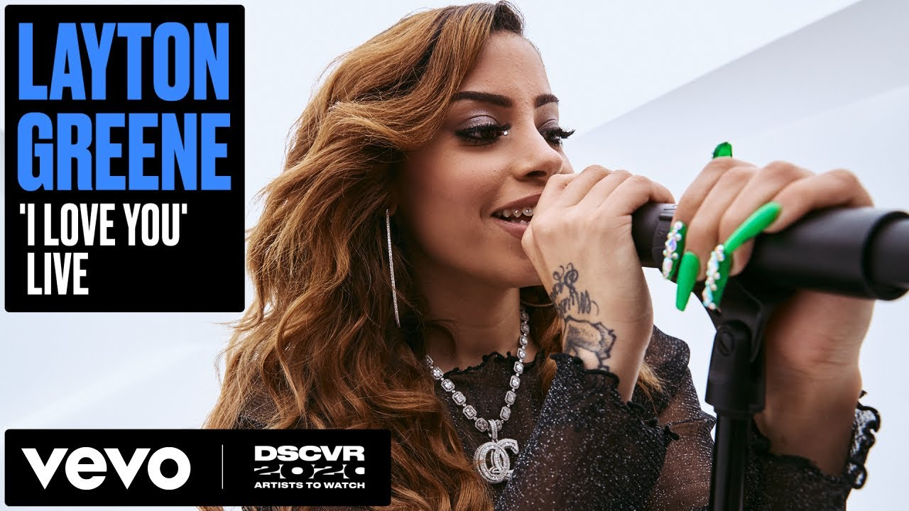 Layton Greene - I Love You (Live) | Vevo DSCVR Artists to Watch 2020
