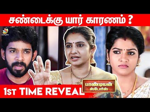 நான் Over Acting பண்றேன்னா | Pandian Stores Dhanam Family Interview | Kathir Mullai Vijay Tv
