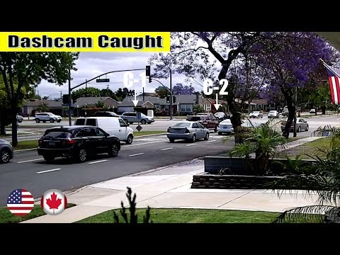 Ultimate North American Cars Driving Fails Compilation - 227 [Dash Cam Caught Video]