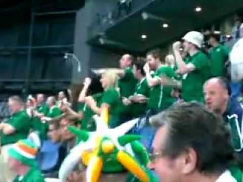 Матч Казахстан-Ирландия на стадионе Astana Arena