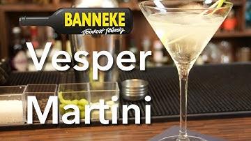 Vesper Martini - James Bond Martini Drink selber mixen - Schüttelschule by Banneke