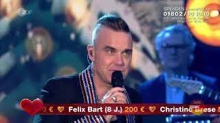 Robbie Williams - Winter Wonderland (Ein Herz für Kinder 07.12.2019)