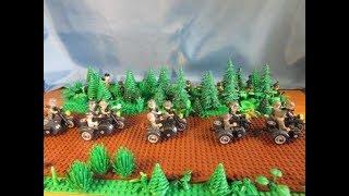 """Военная лего самоделка """"Окруженцы. Засада. Июль 1941 года"""""""