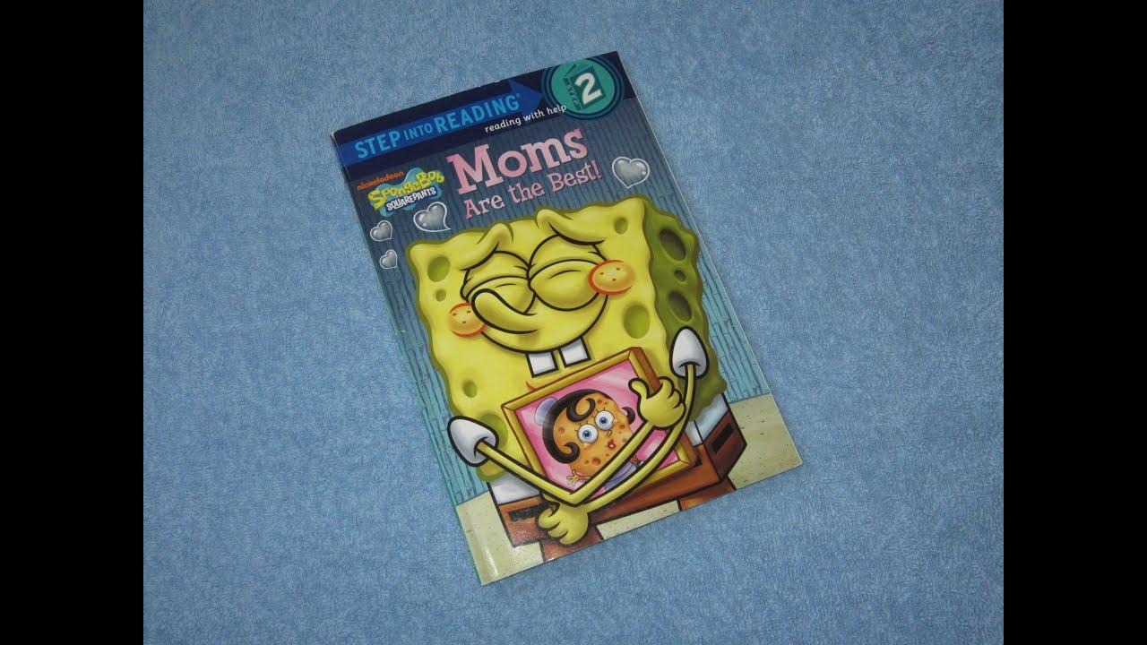 spongebob moms are the best children u0027s read aloud story book