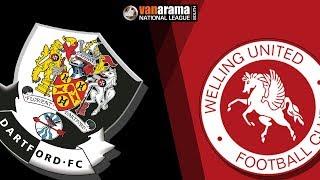 01/01/18 Dartford v Welling