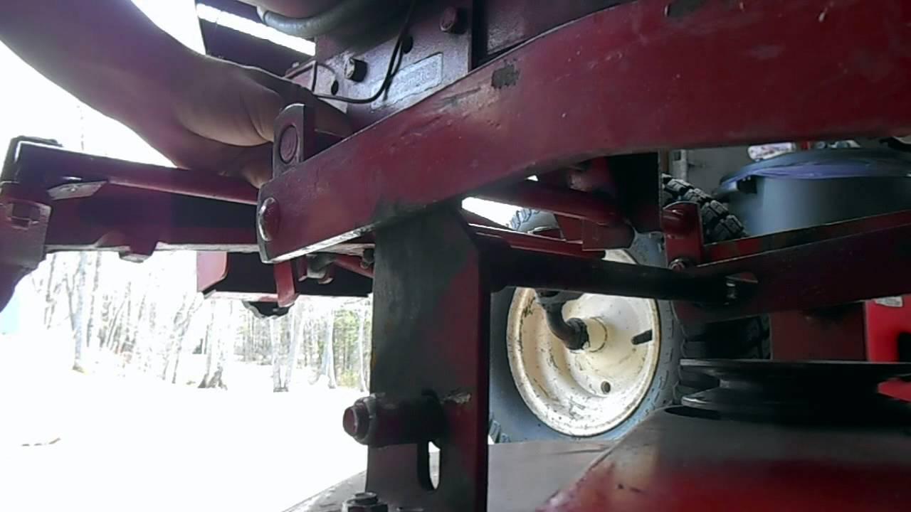 wheel horse 310 8 transmission diagram [ 1280 x 720 Pixel ]