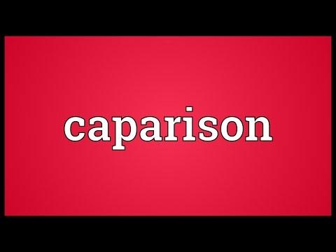 Header of caparison
