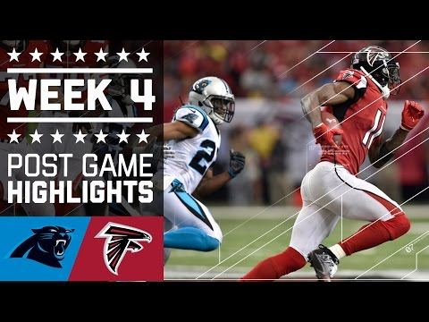 Panthers vs. Falcons | NFL Week 4 Game Highlights