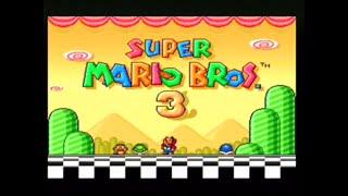 SUPER MARIO BROS 3 (SUPER NINTENDO) LONGPLAY