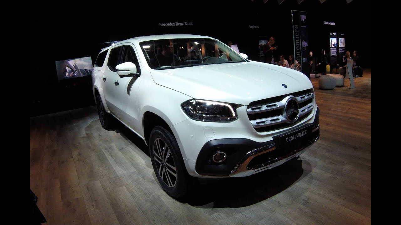 mercedes benz x class pick up x250d 4matic with hardtop. Black Bedroom Furniture Sets. Home Design Ideas