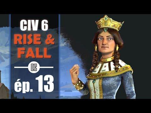 [FR] Civilization 6 RISE AND FALL Géorgie let's play ép 13
