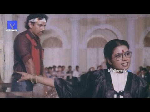 Excllent Court Scene From Aahuthi Movie