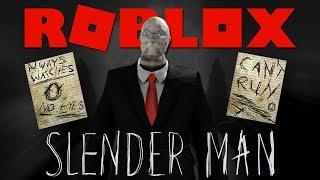 SLENDER MAN IN ROBLOX !! 👻