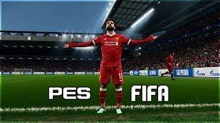 PES TE OLUP FIFA DA OLMAYAN ZELLIKLER OK AIRACAKSINIZ FIFA 19 vs PES 19