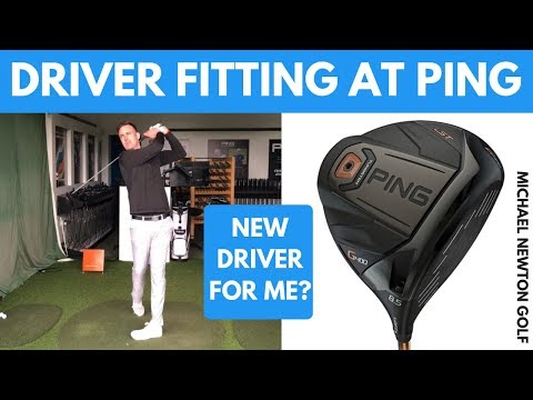 My Driver Fitting At PING Fitting Centre