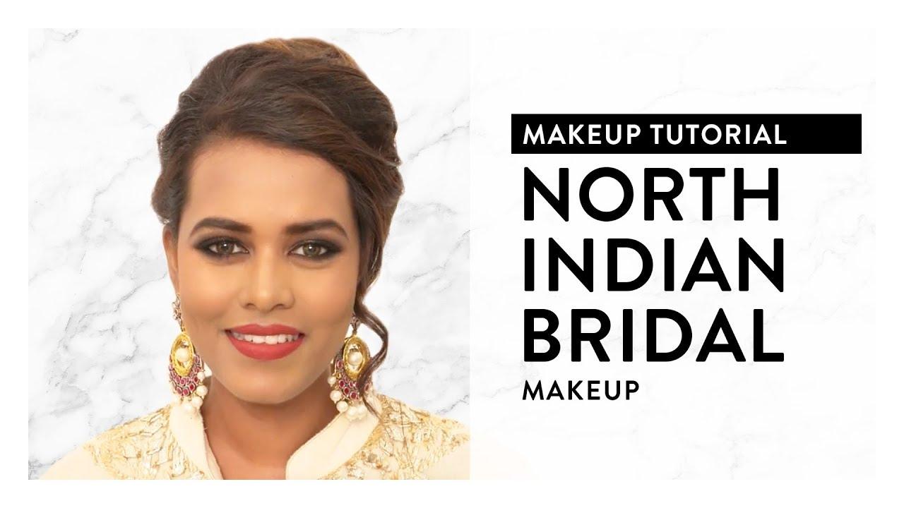 north indian bridal makeup tutorial   myglamm