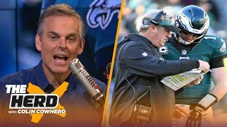 Colin Cowherd on the Eagles SB LIII odds, 'passive' state of the Cowboys | NFL | THE HERD