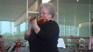 Bach Preludio ideas from Monica Huggett