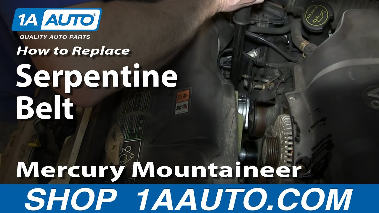 How To Change Oil And Filter 2002 05 4 6l V8 Ford Explorer Mercury