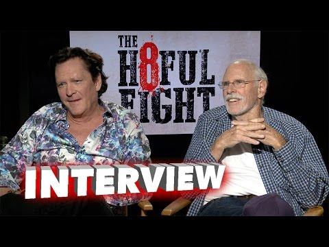 The Hateful Eight: Bruce Dern & Michael Madsen Exclusive Interview