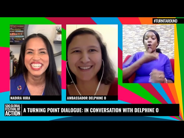 A Turning Point Dialogue: In Conversation with Delphine O (Spanish)