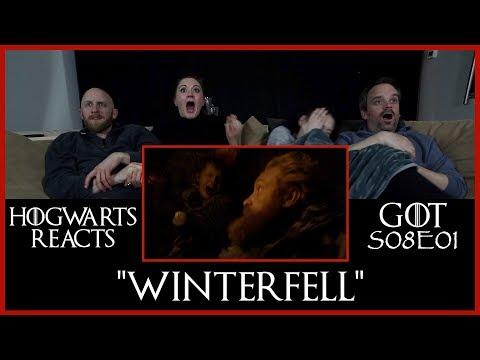 Hogwarts Reacts: GoT S08E01 - Winterfell