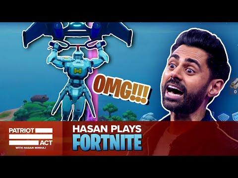 Hasan Plays Fortnite | Patriot Act with Hasan Minhaj | Netflix