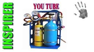 как сделать мини бензиновую горелку своими руками / how to make a mini petrol burner with your hands