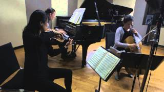 Trio con Brio Copenhagen: Arensky: Piano Trio No. 1, 3rd movement