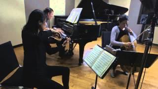 Trio con Brio Copenhagen: Arensky: Piano Trio No. 1, 3rd movement