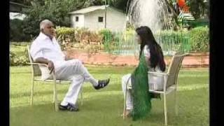Karnataka CM BS Yeddyurappa interview by Ramya