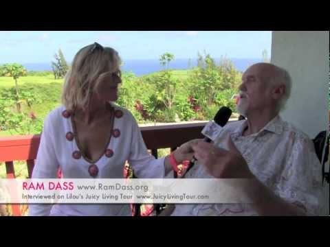 "Ram Dass - The guru is inside each of us ! ""I am loving awareness"" Maui - Hawaii"