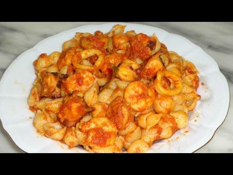 recettes-de-pâtes-aux-fruits-de-mer---مقرونة-بغلال-البحر