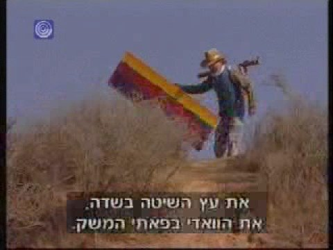 Ron Gang, painter, on Israel TV 1