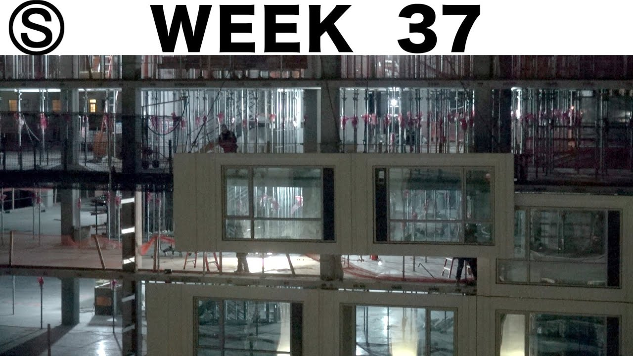 One-week construction time-lapse with closeups: Week 37 of the Ⓢ-series