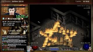 Diablo 2 - Hell Sorceress Personal Best! - 5:12:00!!!