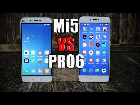 XIaomi Mi5 против Meizu Pro 6. Железо или дизайн? | Сравнение |  Где купить?| Review