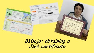 81Dojo: obtaining a real JSA certificate for your Dan or Kyu rank