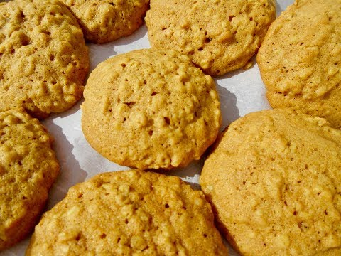 PUMPKIN Cookies - How To Make PUMPKIN Cookie Recipe