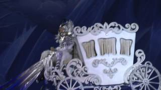 Карета Снежного короля и тысячи огоньков зрителей.Е.Плющенко дневное шоу Питер 7.11.15