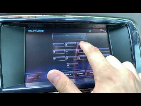 How To Lock The Glove Box On A Jaguar XJ / X351 By Putting It Into Valet Mode.